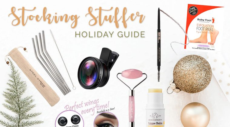 Stocking Stuffer Holiday Guide {2018}