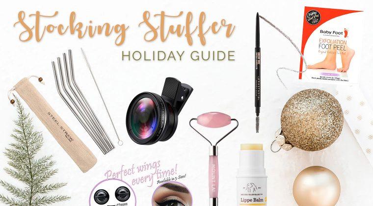 Stocking Stuffer Holiday Guide {2018}