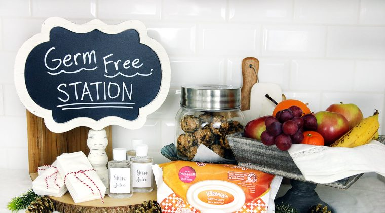 Setting up a Germ Free Station this Cold & Flu Season